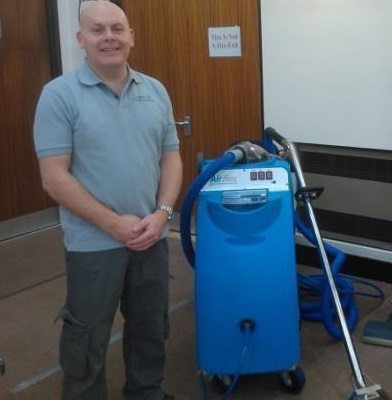 Andrew Webb Owner and Operator of Approved Carpet Cleaning